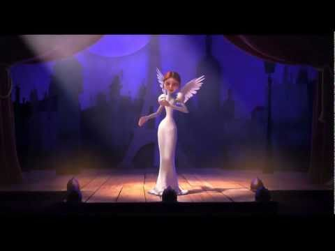 """Vanessa Paradis & -M- """"La Seine"""" (Extrait Du Film """"Un Monstre à Paris"""")"""