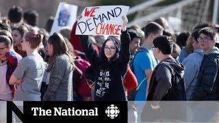 National School Walkout: Students demand change on gun laws