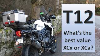 Triumph Tiger 1200 - XCx or XCa?