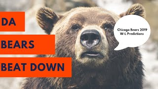 Chicago Bears 2019 W-L Predictions