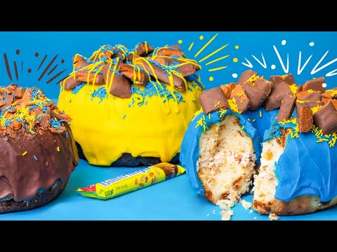 Unbelievable Donuts JACKED UP w/ Butterfinger! | How To Cake It