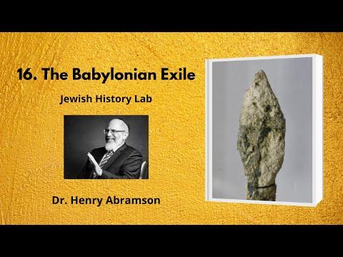 16. The Babylonian Exile (Jewish History Lab)