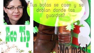 EcoTip #2: ¡Guarda tus botas sin que se caigan o se doblen! Thumbnail