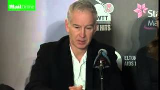 John McEnroe on the success of the...