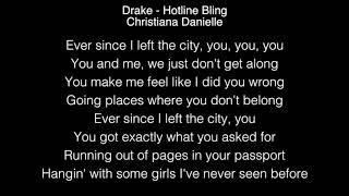 Christiana Danielle - Hotline Bling Lyrics (Drake) The Voice