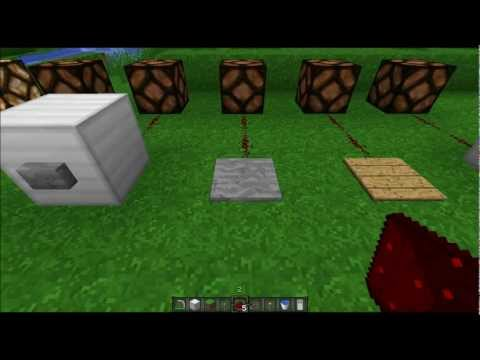Redstone Tutorials - Part 1 - The Basics