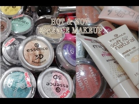 HOT & NOT: ESSENCE MAKEUP PRODUCTS ❤ BIG COLLECTION OVERVIEW