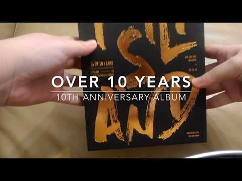 """Unboxing FTISLAND """"Over 10 Years"""" 10th Anniversary Album"""