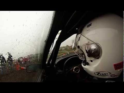 '88 Mazda RX7   Modified Rearwheel Drive   Car 190   Run 16   2014 Southwest Div SCCA RallyCross Nat