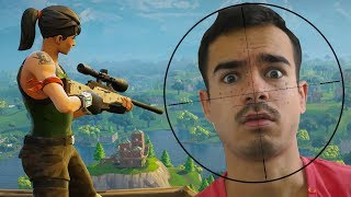 OMG NOSKIN GIBT MIR DEN KRASSESTEN HEADSHOT !! Fortnite Battle Royale