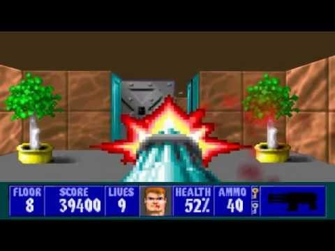 Wolfenstein 3D - Episode 6, Floor 8