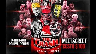 The Crash Lucha Libre 14 de Abril 2018, los Mejores momentos del Evento.