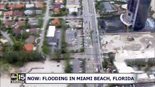 WATCH LIVE: Flooding in Miami Beach, Florida