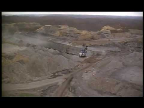 Mountaintop Removal Scene from APPALACHIA: A HISTORY OF MOUNTAINS AND PEOPLE