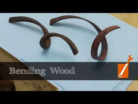 Extreme wood bending with ammonia