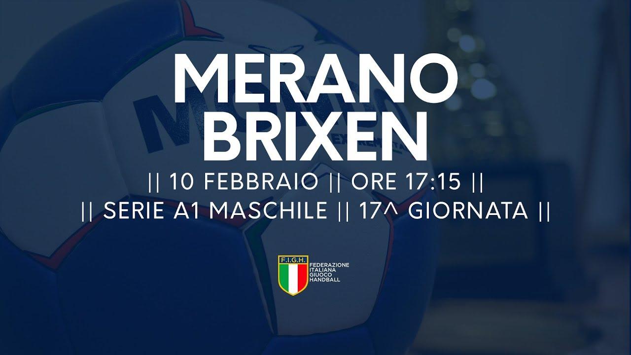 Serie A1M [17^]: Meran - Brixen 22-21