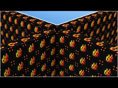1v1v1v1 FIRE / PRESTONPLAYZ LUCKY BLOCK WALLS!