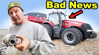 THE NEW TRACTOR HAS A PROBLEM