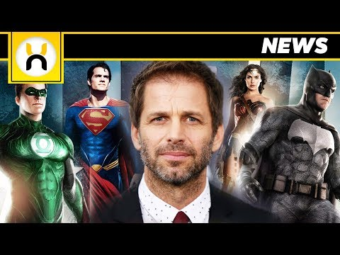 Zack Snyder Planned to End the DCEU After Justice League 2
