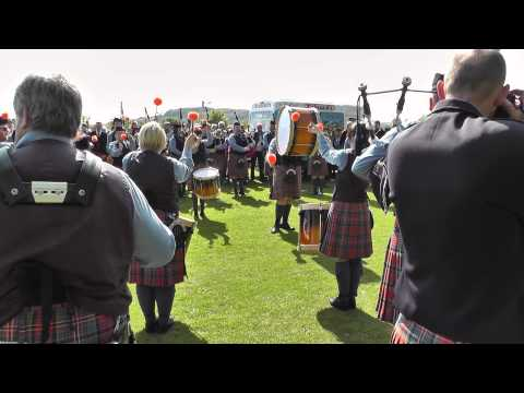 Cullybackey Pipe Band - Ards 2012