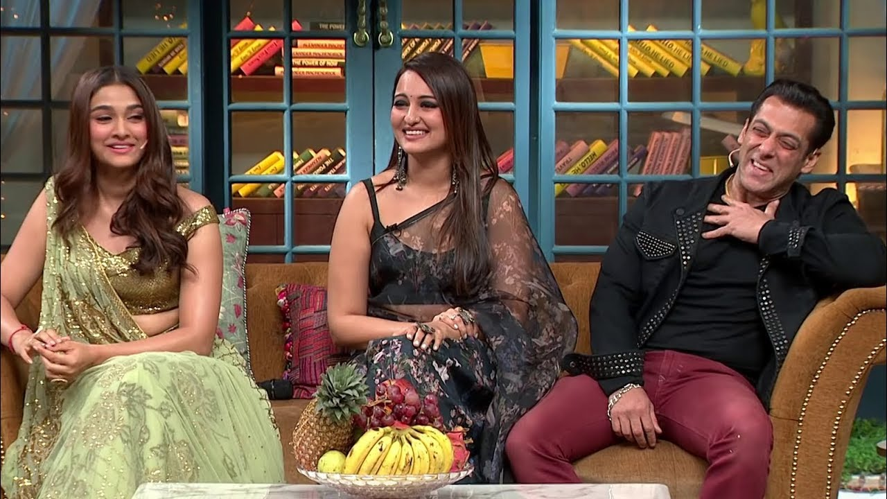 The Kapil Sharma Show - Movie Dabangg 3 Episode Uncensored   Salman Khan, Sonakshi, Saiee