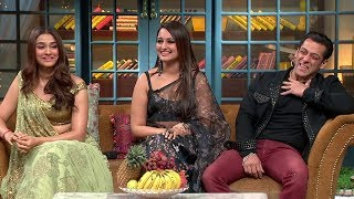 The Kapil Sharma Show - Movie Dabangg 3 Episode Uncensored | Salman Khan, Sonakshi, Saiee