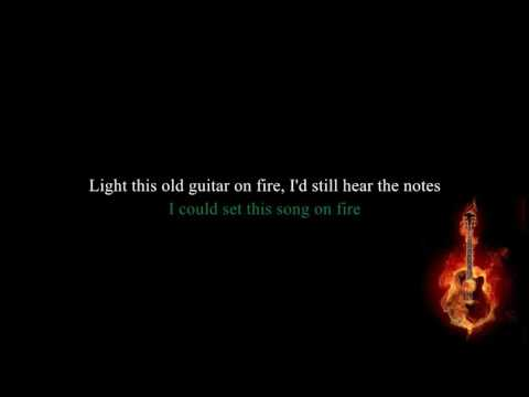 Nickelback - Song On Fire (Lyrics)