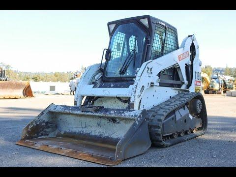 USED SKID STEER 2012 BOBCAT T190 SKID STEER EROPS HEAT/AC 1200HRS