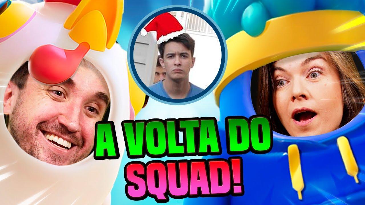 O BONDE DO LEON! - Fall Guys feat. Jã1, Noé e Bella