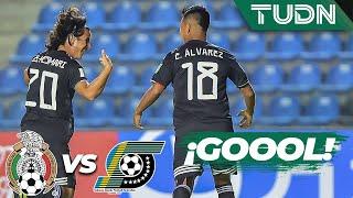 ¡Goool de Efraín Álvarez! | México 1 - 0 Islas Salomón | Mundial Brasil Sub 17 G-F | TUDN
