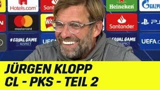 Jürgen Klopps PK-Highlights der CL-Gruppenphase: Teil 2   FC Liverpool   UEFA Champions League