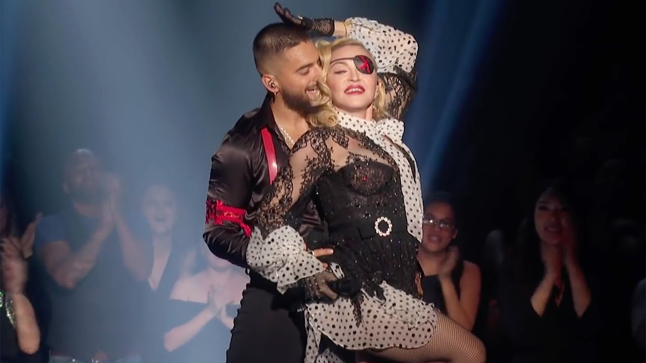 Madonna & Maluma - Medellín (2019 Billboard Music Awards)