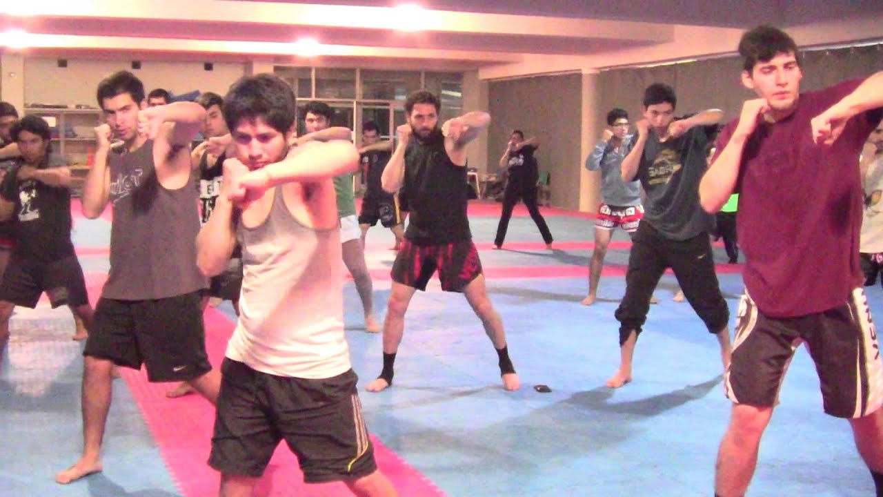 Muay Thai Basic Techniques for Beginners part 2, Chile ...