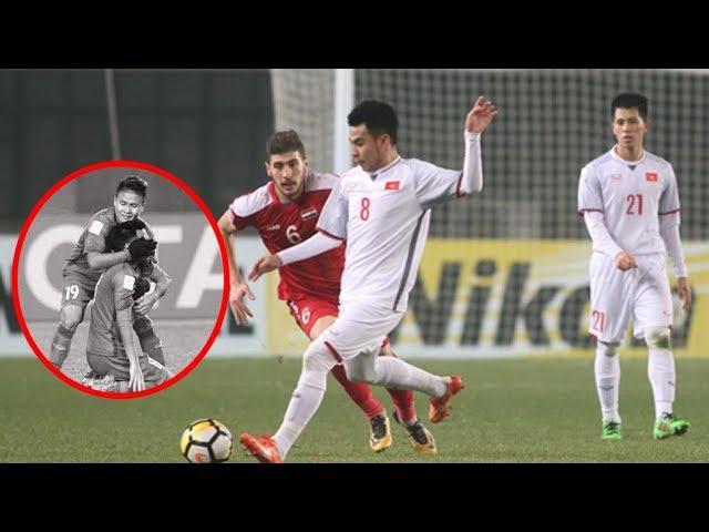 Tuyển thủ U23 nén nỗi thương đau mất người thân,vẫn thi đấu hết mình vì danh dự Tổ Quốc