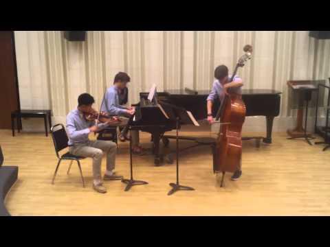 Piazzolla Verano Porteno: KuanRinehartBerghausen Trio
