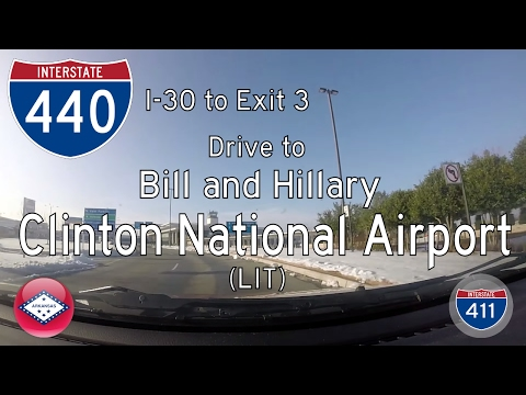 Interstate 440 - Interstate 30 - Clinton Nat'l Airport - Arkansas | Drive America's Highways 🚙