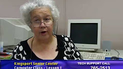 Senior Computer Lesson 1