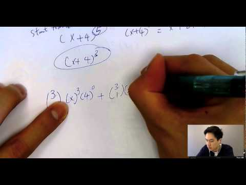 IB Math Exam Secrets for Binomial expansion/ theorem