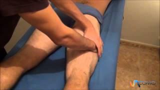 Pantorrilla la masaje de muscular