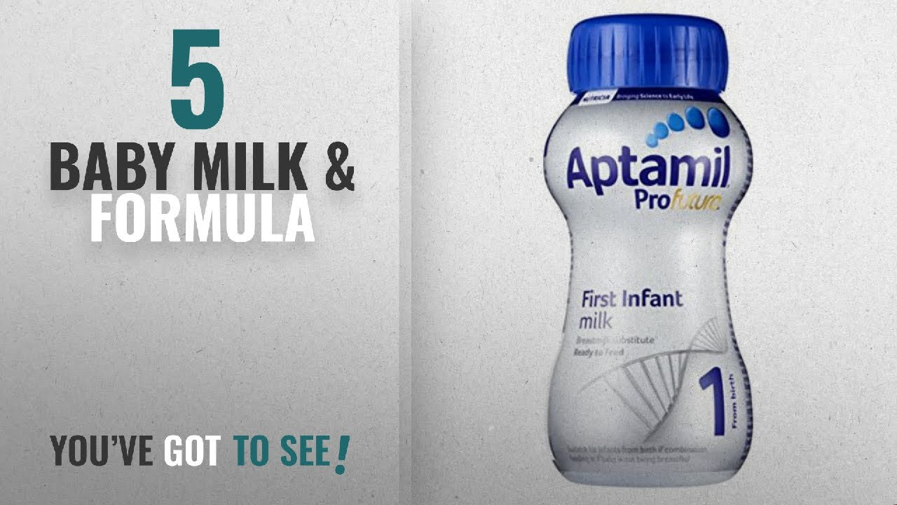 Top 10 Baby Milk & Formula [2018]: Aptamil Profutura First Infant Milk from  Birth 200 ml (pack of