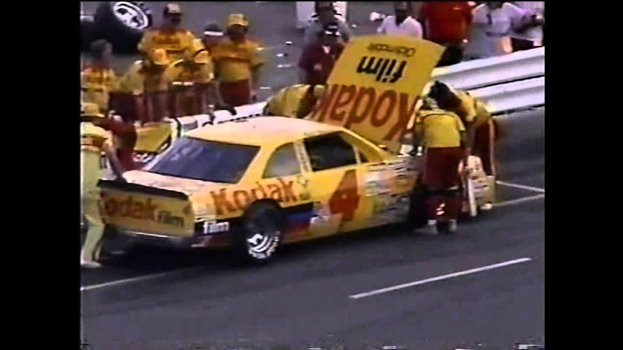 1986 NASCAR Winston Cup Oakwood Homes 500 @ Charlotte ...