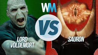 Lord Voldemort vs. Sauron
