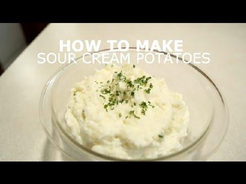 Sour Cream Potatoes Recipe : Potatoes