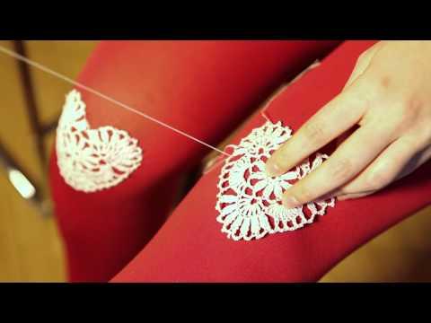 ModCloth DIY: Embellished Tights