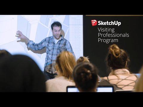 SketchUp Visiting Professionals Program at Virginia Tech