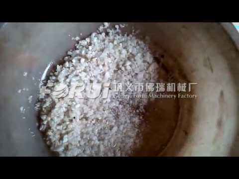 barite extraction process