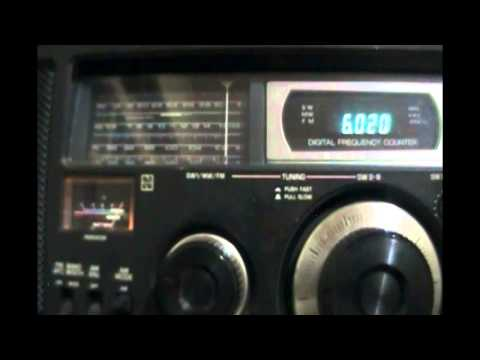 China Radio International (relay Cerrik, Albania) - Mandarin to North America - 6020 kHz
