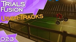 Trials Fusion #23: athletics event, Tower Drop, Canyon Racer, Glacial Drift, Short Circuit