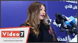 ليلى علوى: المرأة هى عمود الأسرة وأمل كبير لمصر وستظل قوية
