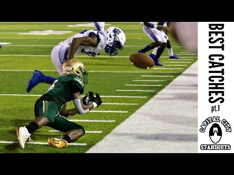 """HIGH SCHOOL FOOTBALL BEST CATCHES 2019-2020 